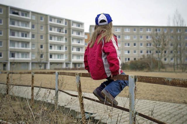 Kinder in Ostdeutschland sind immer noch ärmer als im Westen