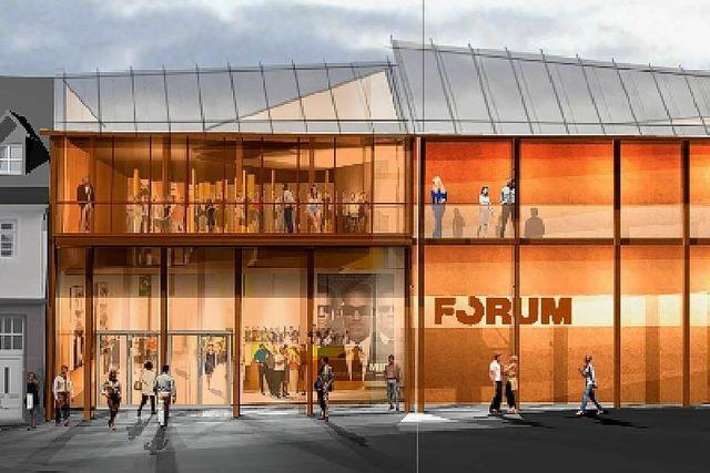 Im März wird das neue Forum-Kino in Lahr eröffnet