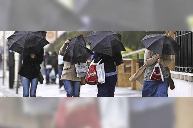 Sturm und Flut heftig wie selten zuvor