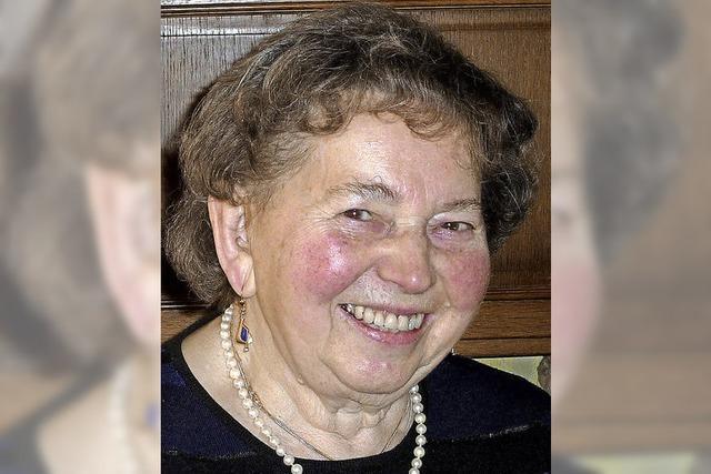 Liselotte Hetz wurde 80 Jahre