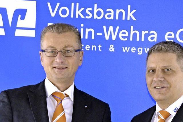 Volksbank Rhein-Wehra hat wieder ein Führungsteam