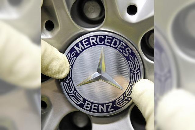 Absatzrekord für Daimler