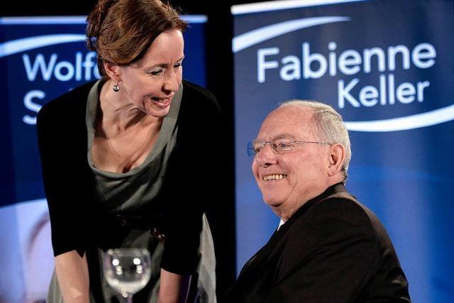 Schäuble hilft Bürgermeister-Kandidatin in Straßburg