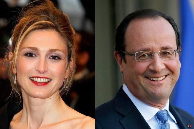 Hollande soll mit Julie Gayet ein Verhältnis haben