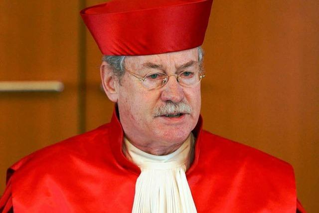 Ex-Bundesverfassungsrichter Winfried Hassemer ist tot