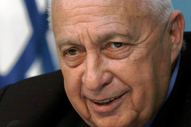 Israels Ex-Premier Ariel Scharon ist tot