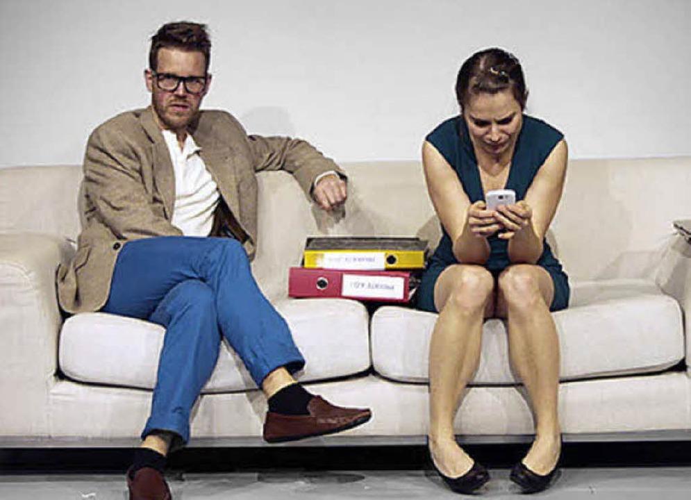 Kreativkonglomerat: X-Freunde. Mit Annemarie Wilhelmi und Christian Drüke  | Foto: Katarzyna Zielewska