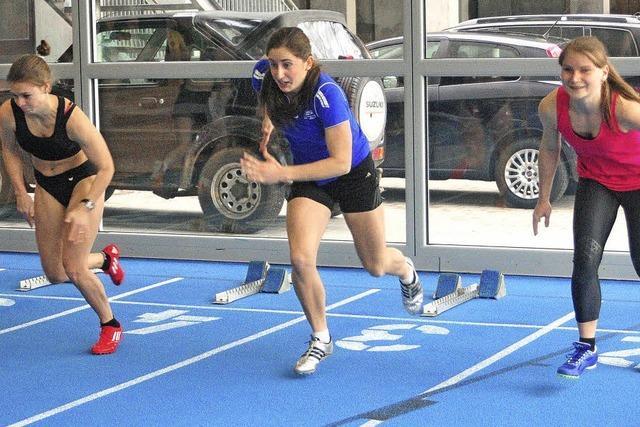 Löffinger Hallensportfest mit Leichtathleten in Rekordlaune