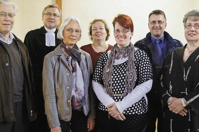 Neue Kirchenräte begrüßt