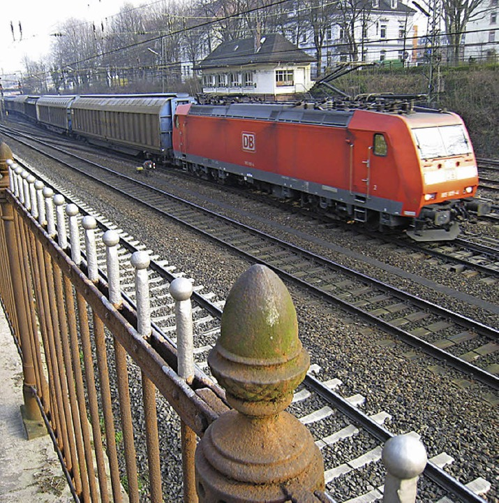 Stark lärmbelastet: der Offenburger Bahngraben.   | Foto: Seller