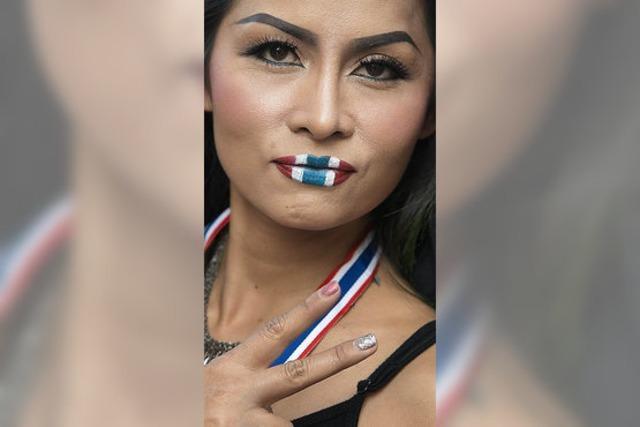 Massenprotest in Bangkok