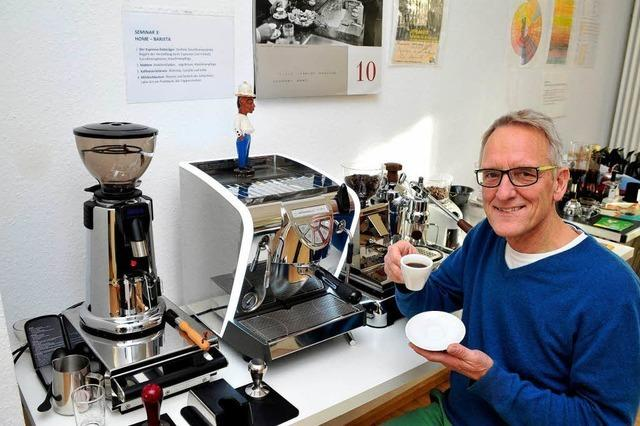 Wie man leckeren Espresso oder Cappuccino selber machen kann