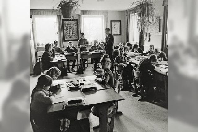 Die Zwergschule wurde zum Bürgerhaus