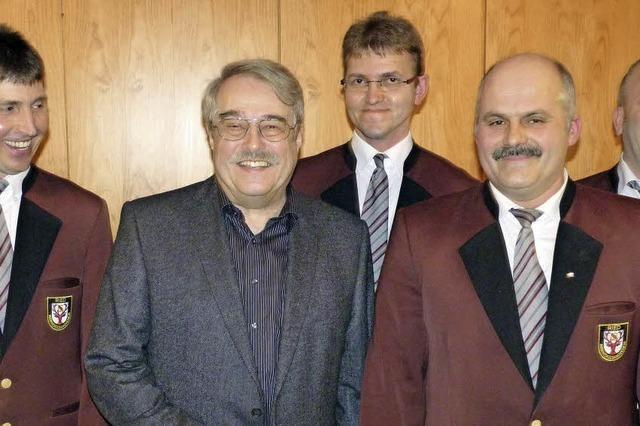Günter Enßle hat den Musikverein Ried geprägt