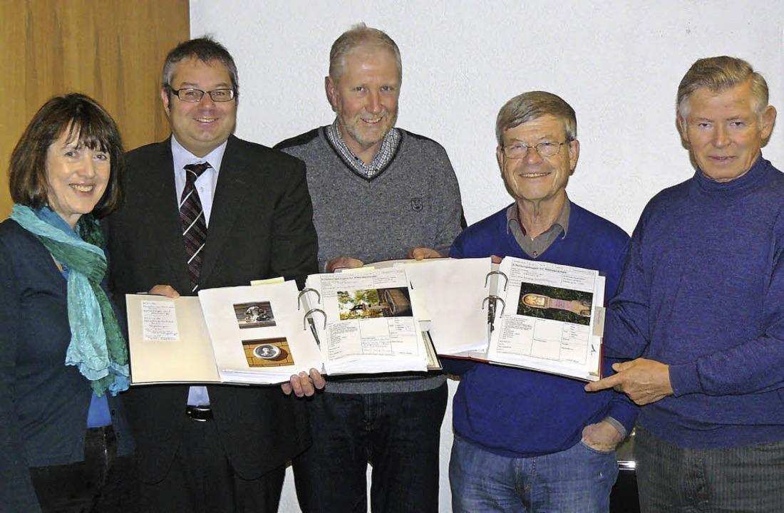 Stellten die Dokumentation der Kleinde...er, Karl Braun und Gottfried Nauwerck   | Foto: Stadt