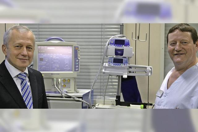 Neuer Chefarzt im Spital