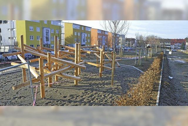 Stadtpark am Messeplatz nimmt Formen an