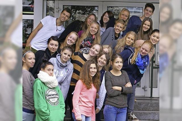 Kant-Schüler stellen aus