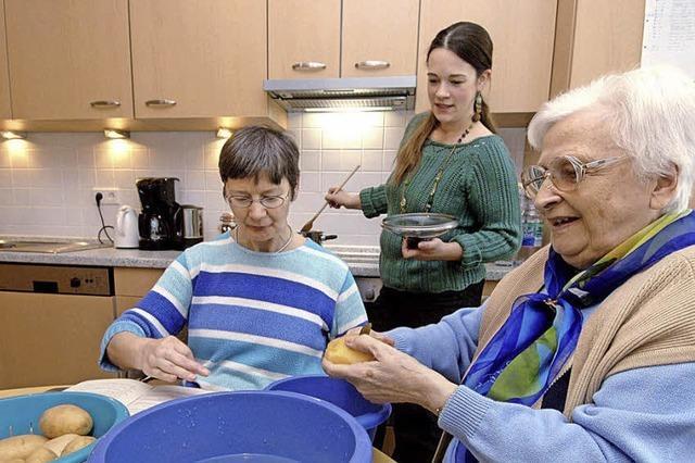 Vor-Ort-Wohnen statt ins Altenheim