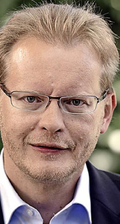 Bundestagsabgeordneter Thomas Dörflinger (links) widerspricht Reinhold Pix   | Foto: dpa/Markus Donner
