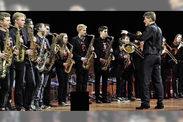 Das Freiburger Schüler-Jazzorchester spielt im Jazzhaus