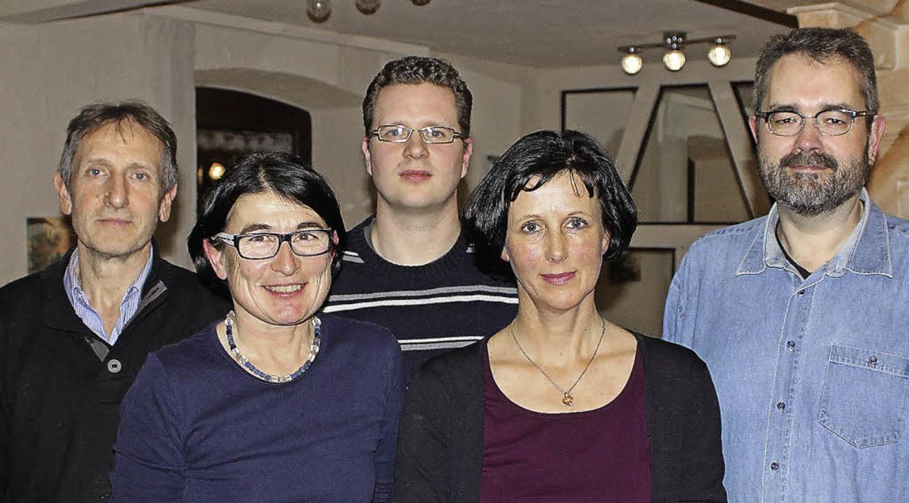 Der Vorstand (von links): Bernhard Rei...rt, Andrea Wenzel und Thomas Bohnert.   | Foto: julia gross