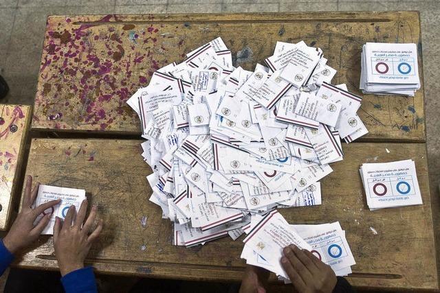 Nur 37 Prozent der Ägypter stimmen über neue Verfassung ab