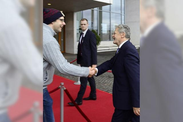 Gauck fordert Mut zum Wettbewerb