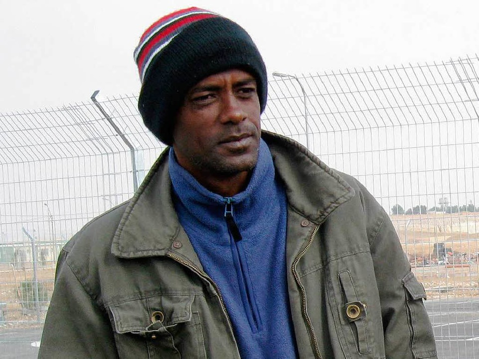 Amon, Flüchtling aus Eritrea  | Foto: Inge Günther