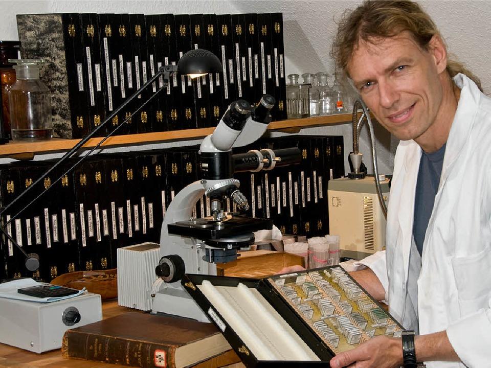 Der Biologe Manred Ulitzka  | Foto: Privat