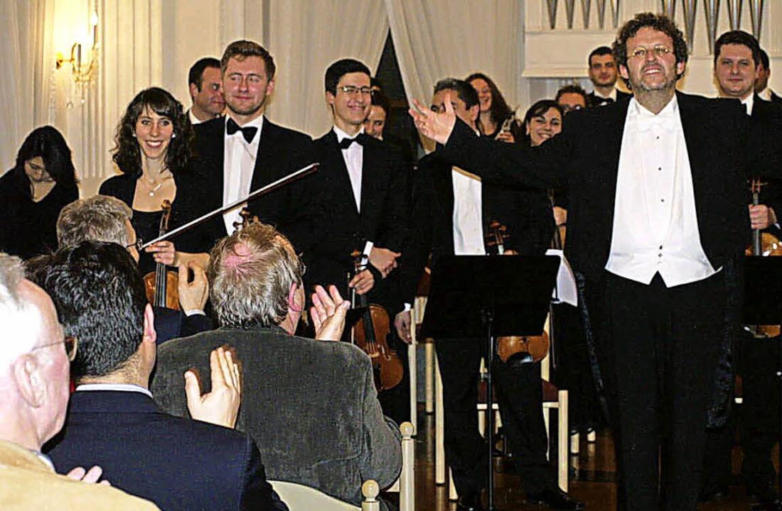 Zum Auftakt der Klosterkonzerte gestal...hard Strauss standen auf dem Programm.  | Foto: Margrit Matyscak