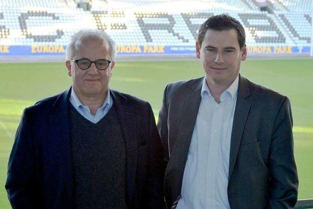 Neues SC-Stadion: Keller und Leki rechnen 2018 mit erstem Spiel