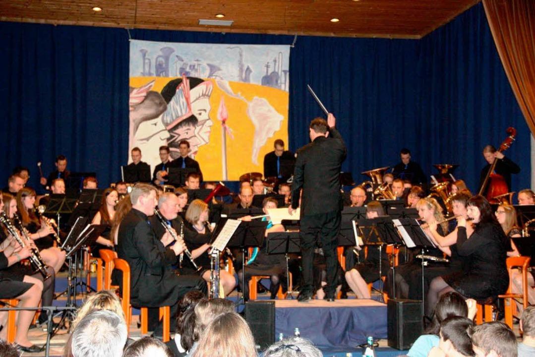 Einmal mehr in Bestform zeigte sich de...ein Wollbach bei seinem Jahreskonzert.  | Foto: W.Bronner