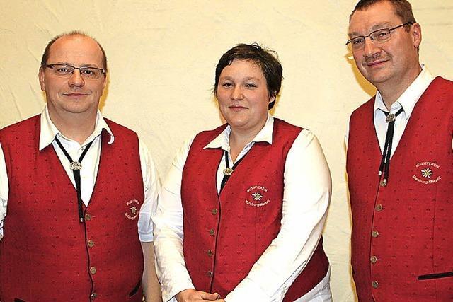 Rolf Dreher führt jetzt den Musikverein Edelweiß