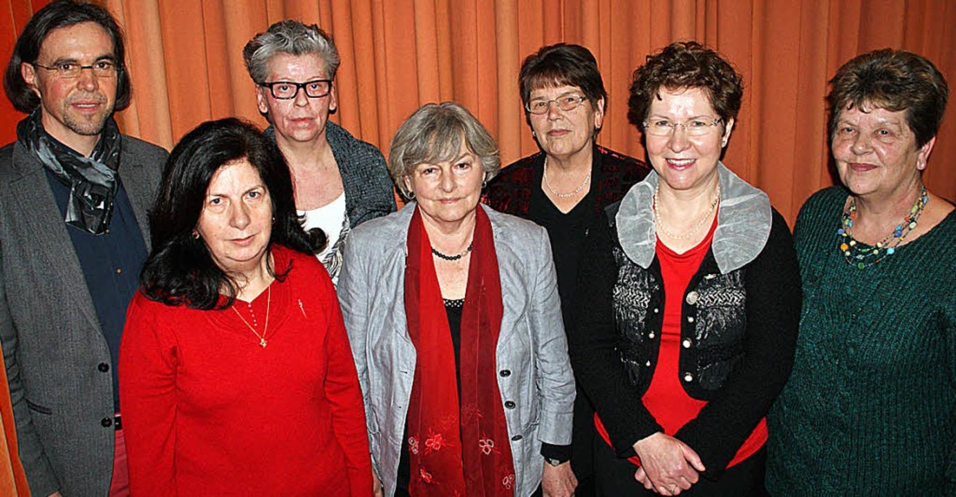 Geehrt für langjähriges Singen im Kirc... Hess, Claudia Moser und Maria Baier.     Foto: Hrvoje Miloslavic