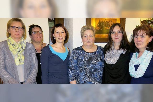 Gute Stimmung bei der Versammlung der Dillendorfer Landfrauen