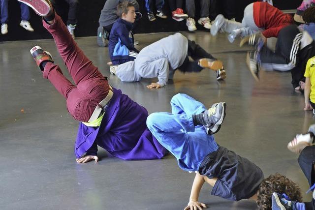Jugendhaus ist ideal für Breakdancer