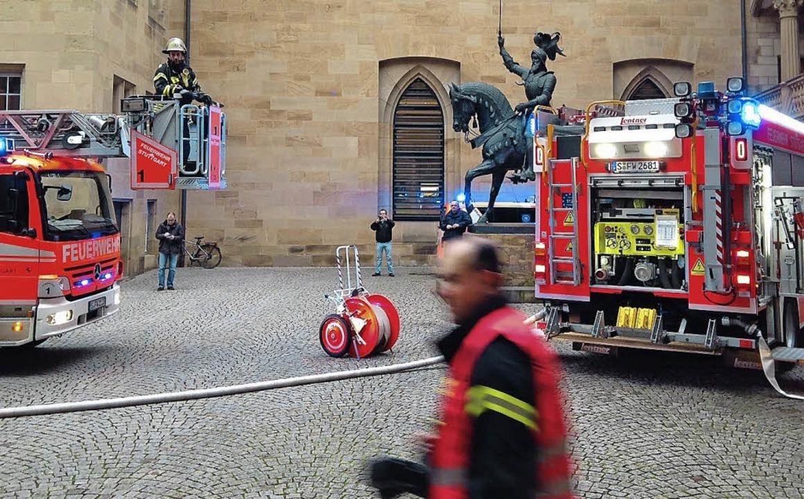 Notfallübung im Stuttgarter Lansdesmuseum  | Foto: Bettina Wieselmann