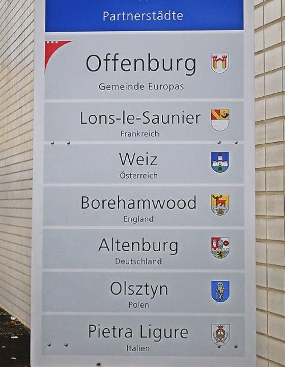 Offenburg ist die Ortenau-Kommune mit den meisten offiziellen Partnerschaften.   | Foto: röderer