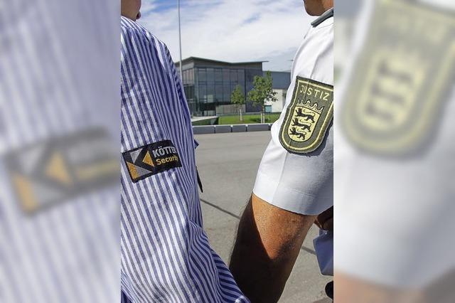 JVA Offenburg will Mitarbeiter von Sicherheitsdienst übernehmen