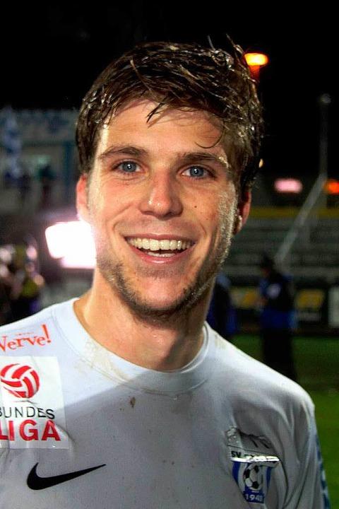 Philipp Zulechner wird offenbar bald im SC-Trikot auflaufen.  | Foto: Steindy