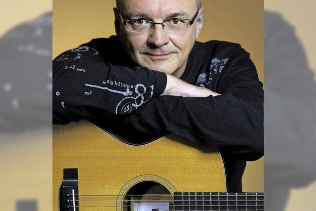 Jacques Stotzem spielt im Wehrer Storchehus