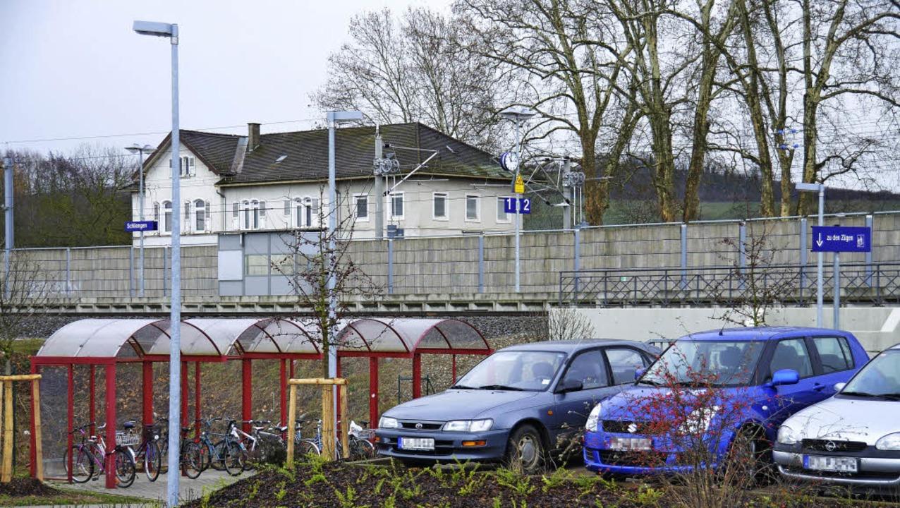 Der Verkehrsknotenpunkt Schliengener B...hr der Gemeinde eine wichtige Rolle.    | Foto: Michael Behrendt