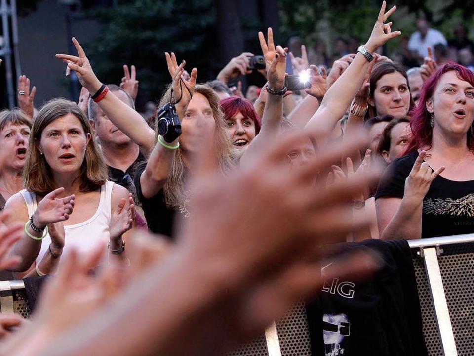 Für manche Musik, für andere Lärm: die Schlossplatz-Konzerte.  | Foto: Patrik Müller