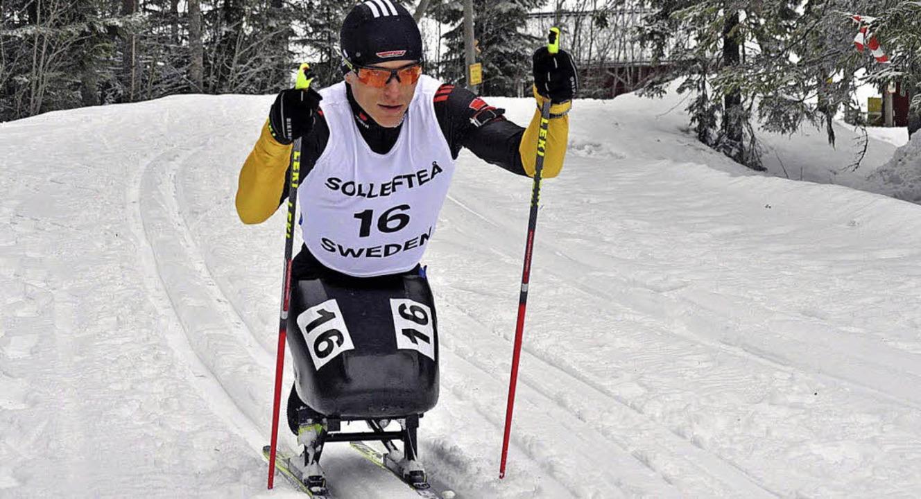 Ob Langlauf oder Biathlon – Sitz...t für Sotschi eine Medaille im Blick.     Foto: Privat