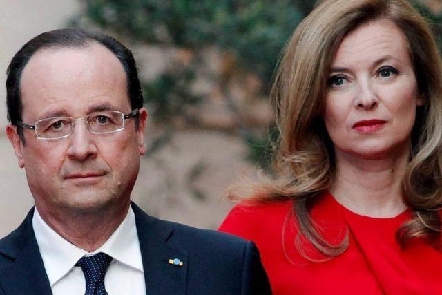 Hollande und Trierweiler geben Trennung bekannt