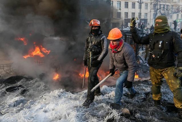 Opposition weitet Proteste in Kiew aus