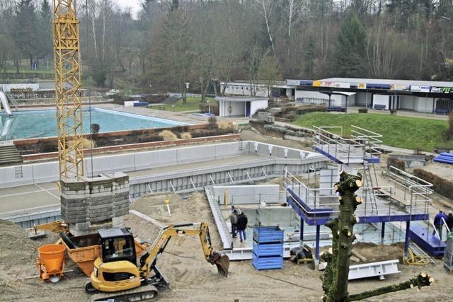 Sanierung Schwimmbad Herbolzheim: Alles im Zeitplan