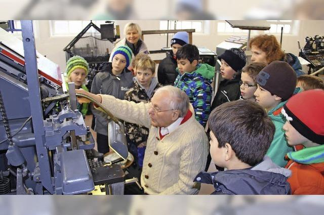 Die Faszination alter Drucktechnik