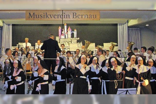 Der Musikverein Bernau feiert 2014 die Gründung vor 150 Jahren